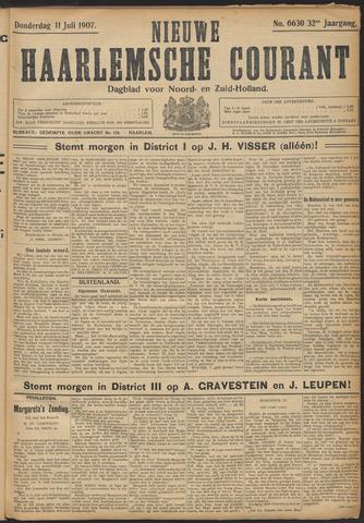 Nieuwe Haarlemsche Courant 1907-07-11