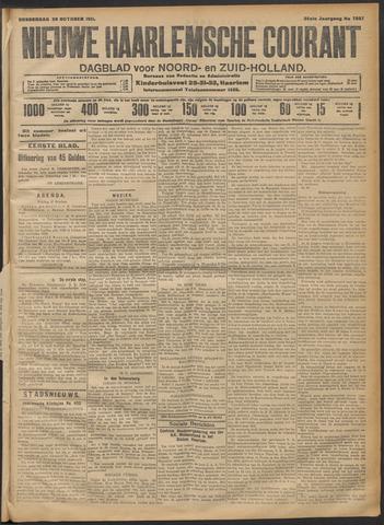 Nieuwe Haarlemsche Courant 1911-10-26