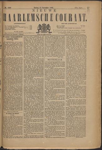 Nieuwe Haarlemsche Courant 1892-11-13