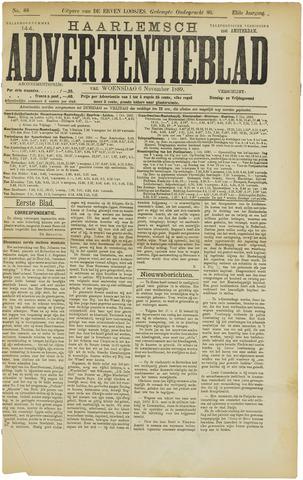 Haarlemsch Advertentieblad 1889-11-06