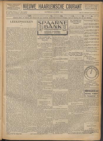 Nieuwe Haarlemsche Courant 1929-04-20