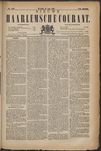 Nieuwe Haarlemsche Courant 1892-06-22