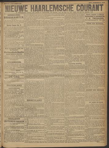 Nieuwe Haarlemsche Courant 1917-09-04