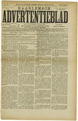 Haarlemsch Advertentieblad 1888-04-25