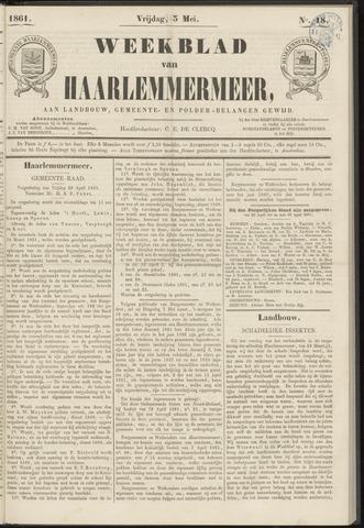 Weekblad van Haarlemmermeer 1861-05-03
