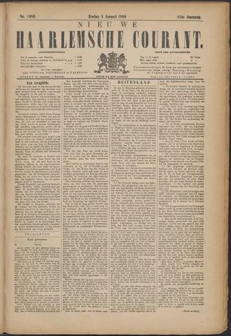 Nieuwe Haarlemsche Courant 1890-01-05