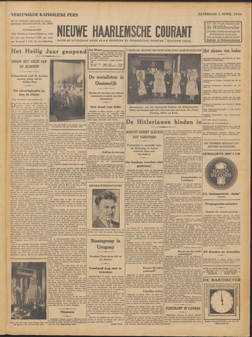 Nieuwe Haarlemsche Courant 1933-04-01