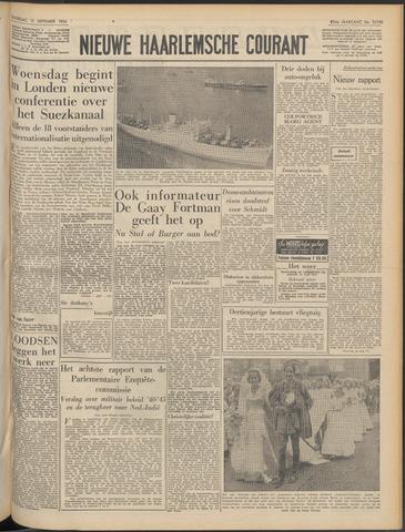 Nieuwe Haarlemsche Courant 1956-09-15