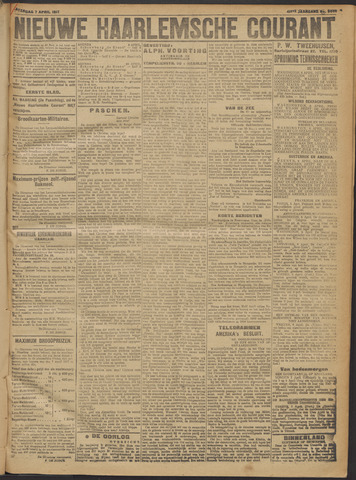 Nieuwe Haarlemsche Courant 1917-04-07