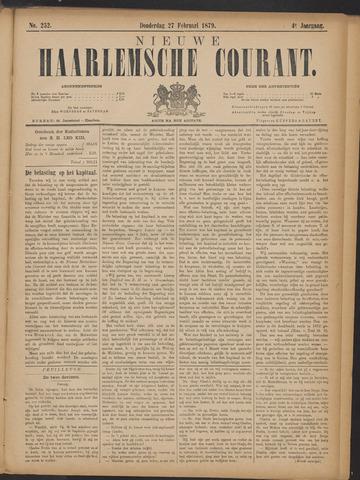 Nieuwe Haarlemsche Courant 1879-02-27