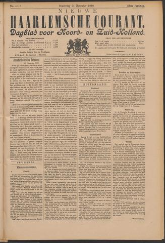 Nieuwe Haarlemsche Courant 1898-11-24