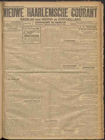 Nieuwe Haarlemsche Courant 1916-09-26