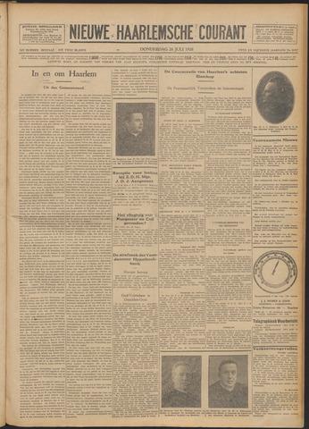 Nieuwe Haarlemsche Courant 1928-07-26