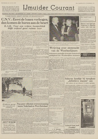 IJmuider Courant 1959-06-30