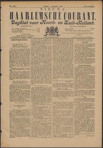 Nieuwe Haarlemsche Courant 1896-12-01