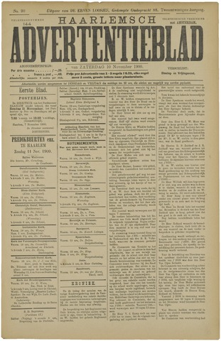 Haarlemsch Advertentieblad 1900-11-10