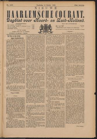 Nieuwe Haarlemsche Courant 1898-10-13