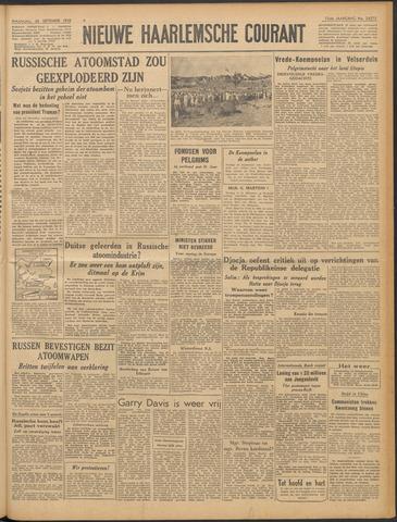Nieuwe Haarlemsche Courant 1949-09-26