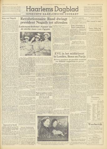 Haarlem's Dagblad 1954-02-25