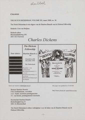 The Dutch Dickensian 2000
