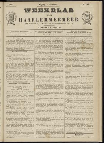 Weekblad van Haarlemmermeer 1877-11-09