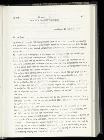 Raadsnotulen Heemstede 1974-03-28