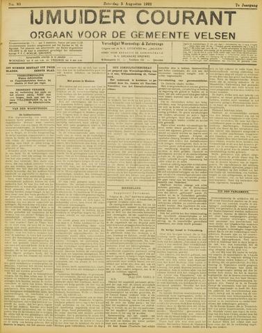 IJmuider Courant 1922-08-05