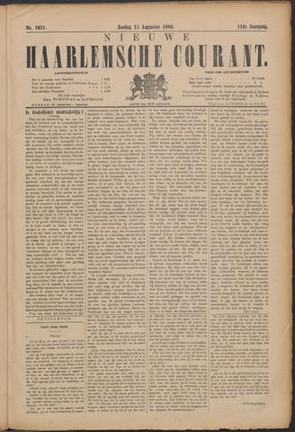 Nieuwe Haarlemsche Courant 1886-08-15