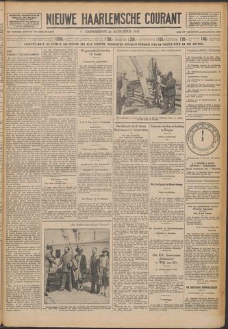 Nieuwe Haarlemsche Courant 1930-08-21