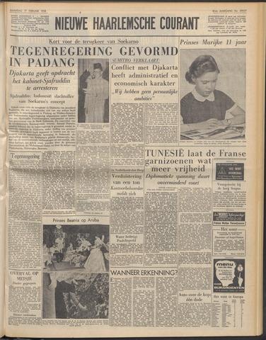 Nieuwe Haarlemsche Courant 1958-02-17