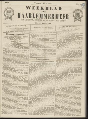 Weekblad van Haarlemmermeer 1864-04-15