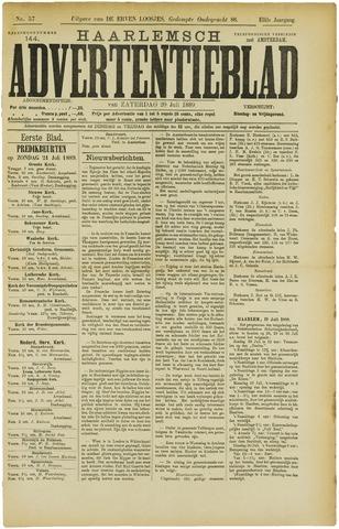 Haarlemsch Advertentieblad 1889-07-20