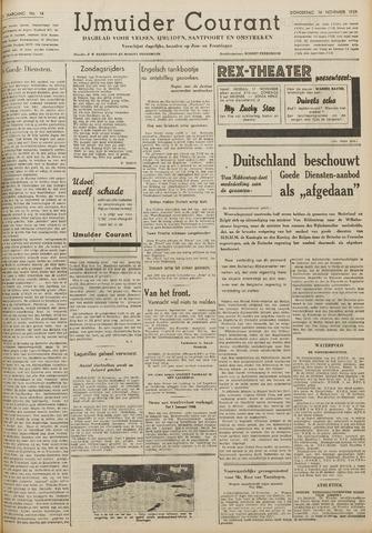 IJmuider Courant 1939-11-16