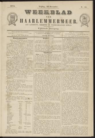 Weekblad van Haarlemmermeer 1874-12-18