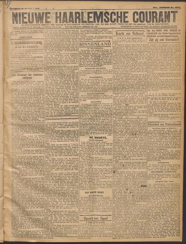 Nieuwe Haarlemsche Courant 1919-10-25