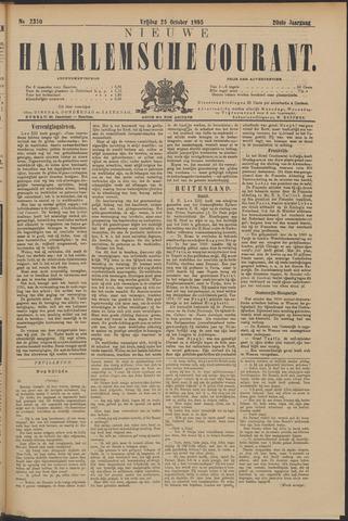 Nieuwe Haarlemsche Courant 1895-10-25