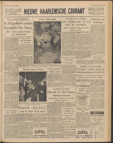 Nieuwe Haarlemsche Courant 1959-04-18