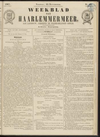 Weekblad van Haarlemmermeer 1867-11-15