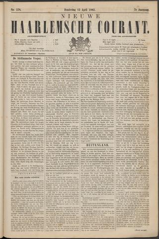 Nieuwe Haarlemsche Courant 1882-04-13