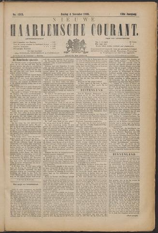 Nieuwe Haarlemsche Courant 1888-11-04