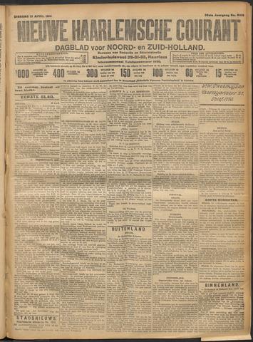 Nieuwe Haarlemsche Courant 1914-04-21