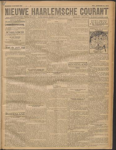 Nieuwe Haarlemsche Courant 1919-10-13