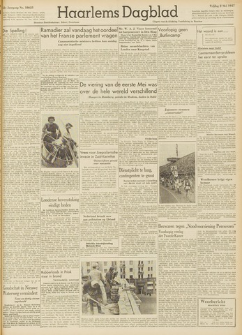 Haarlem's Dagblad 1947-05-02