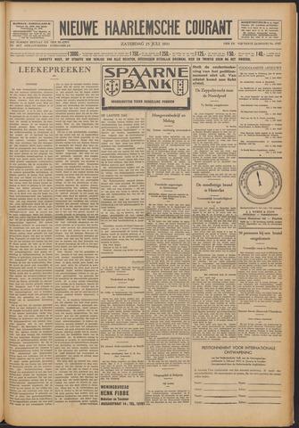 Nieuwe Haarlemsche Courant 1931-07-25