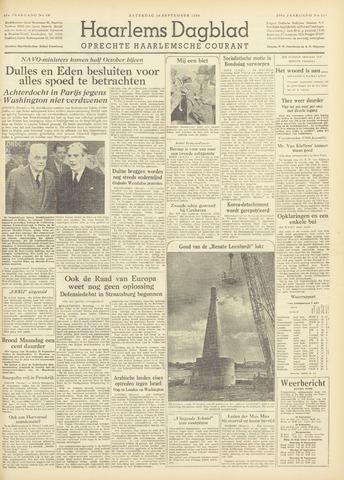 Haarlem's Dagblad 1954-09-18