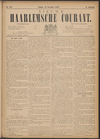 Nieuwe Haarlemsche Courant 1879-11-16
