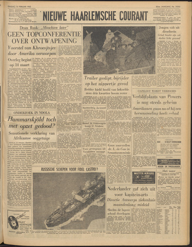Nieuwe Haarlemsche Courant 1962-02-13