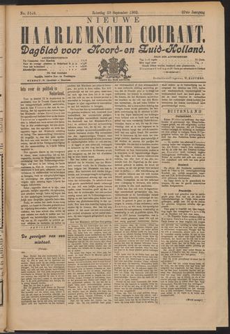 Nieuwe Haarlemsche Courant 1902-09-20