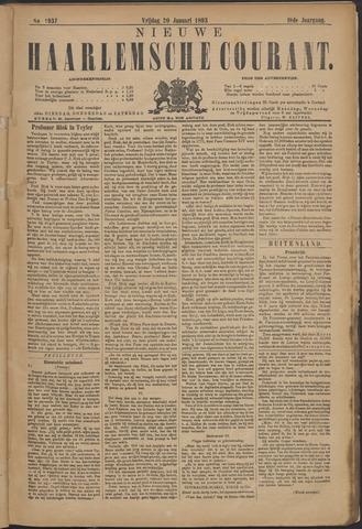 Nieuwe Haarlemsche Courant 1893-01-20