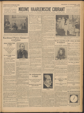 Nieuwe Haarlemsche Courant 1934-11-19